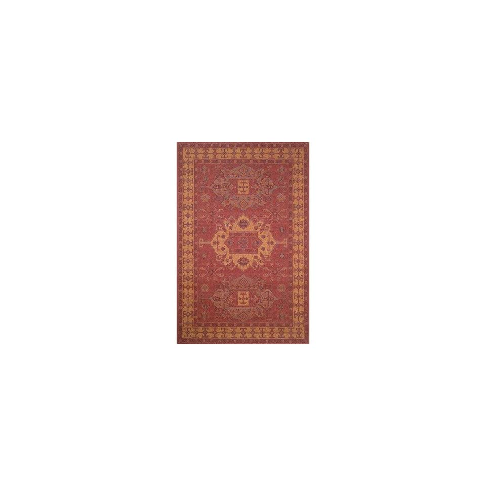 Tropez Kelim Red Indoor / Outdoor Rug Size Runner 111 x 76