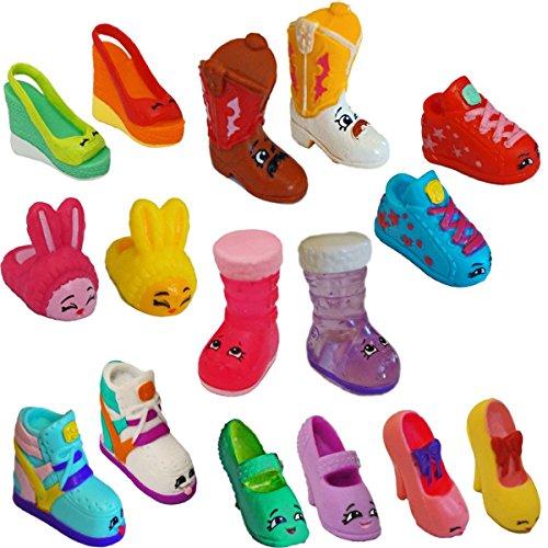 Shopkins Season 2 Shoes Complete Set 16 Figures Original Moose Toys