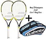 Babolat Drive Z lite Racquet & Babolat Team Line Racquet Holder X 12 (Blue) -Combo
