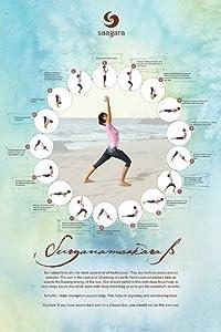 "Augmented Reality Poster - Suryanamaskara B by Saagara - 24"" x 36"""