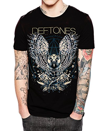 """Deftones American additional metal band Black T Shirt,Sleeveless,Hoodie (X-Large Chest 23"""" / Length 31"""")"""