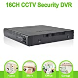 ABOWONE 16 Channels DVR Recorder H.264 CCTV Security Surveillance System Digital Video Recorder