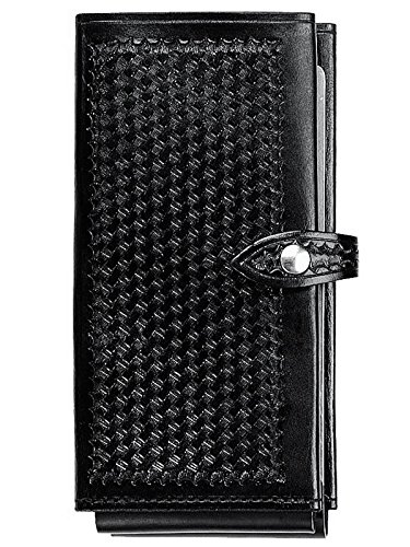 aker-leather-580-single-citation-book-black-basketweave