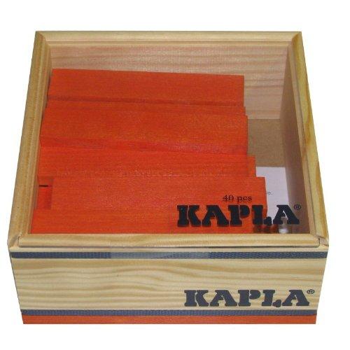 KAPLA Orange 40 Steine