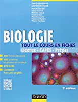 Biologie -Tout le cours en fiches - 3e édition: 300 fiches de cours, 270 QCM et bonus web