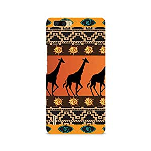Ebby Tribal Giraffe Premium Printed Case For Huawei Honor 6 Plus
