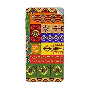 Garmor Designer Mobile Skin Sticker For Lava Iris Fuel 60 - Mobile Sticker