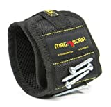 MagnoGrip 002-351 Magnetic Wristband, Black