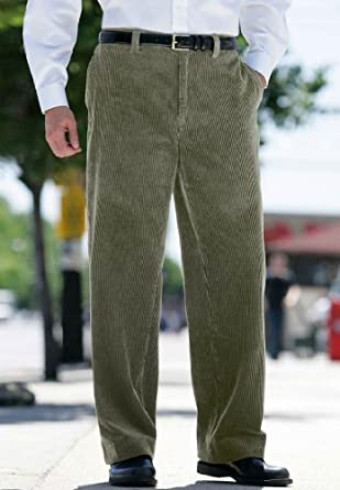 KingSize Big & Tall Flat Front 6-Wale Corduroy Pants best seller
