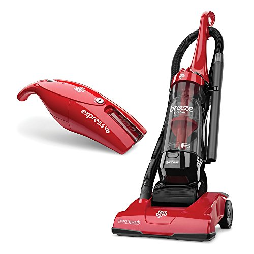 Commart Dirt Devil Breeze Cyclonic Bagless Upright Vacuum and Express V6 Cordless Bagless Handheld Vacuum Ships from USA (Scorpion Quick Flip Hand Vac compare prices)