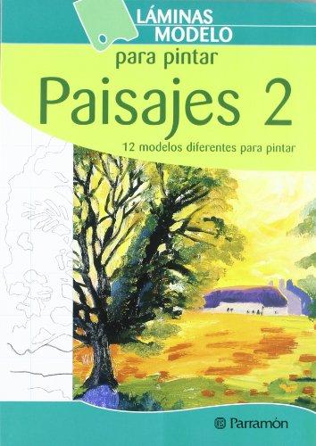 LAMINAS MODELO PARA PINTAR PAISAJES 2