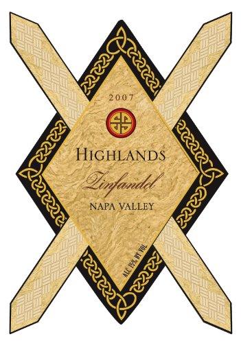 2007 Highlands Zinfandel Napa Valley 750 Ml