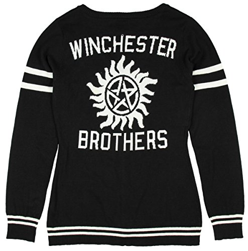 Supernatural Winchester Brothers Girls Cardigan (Small) (Sam And Dean Winchester Jacket compare prices)