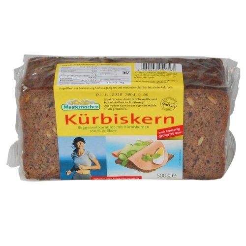 German Mestemacher Pumpkin Seed Bread Whole grain Rye Bread - 1 x 500 g