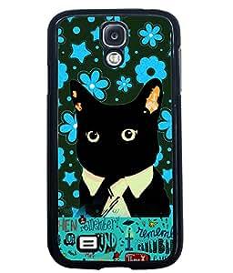 Printvisa 2D Printed Cat Designer back case cover for Samsung Galaxy S4 I9500 - D4215
