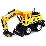 Power Construction Excavator Childrens Kids Remote Control RC Truck RTR, Ready To Run, Rechargeable,