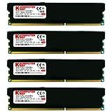 Komputerbay 32GB (4x 8GB) DDR3 PC3-15000 1866MHz DIMM with Black Heatspreaders 240-Pin RAM Desktop Memory 10-11-10-30 XMP ready (Tamaño: 32 Gb)