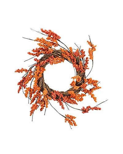 Fantastic Craft Bittersweet Wreath, Orange