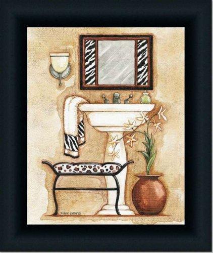 Zebra Print Bathroom Wall Decor : Zazzling zebra print bathroom decor xpressionportal