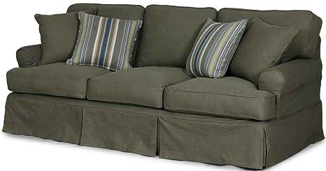 Horizon Sofa - Slip Cover Set Only - Forest Green