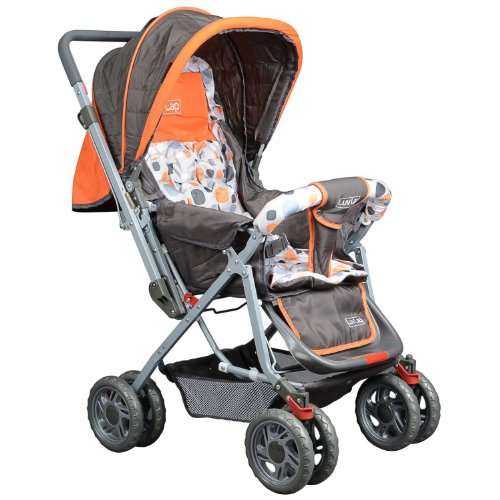 Luv Lap - Sunshine Baby Stroller - Orange - ORANGE, F