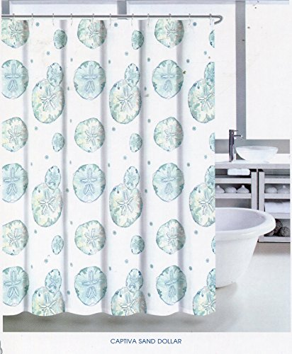 Coastal Collection Captiva Sand Dollar Shower Curtain | shopswell