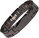 Energy Power Bracelet Health High-Tech Ceramic Armband Germanium Magnetic Bio 002