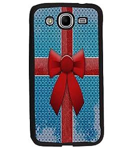 PrintDhaba Ribbon D-4855 Back Case Cover for SAMSUNG GALAXY MEGA 5.8 (Multi-Coloured)