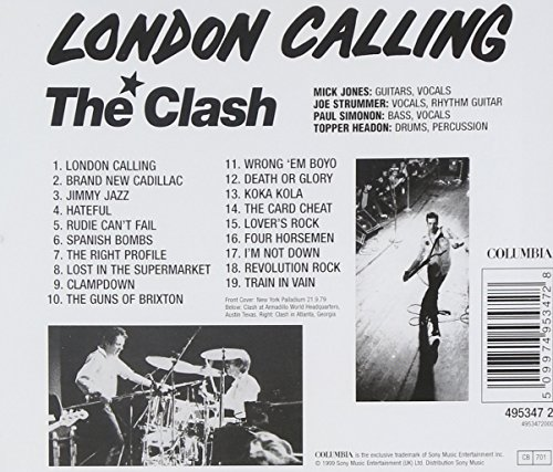 Original album cover of Northanger Abbey by Clash