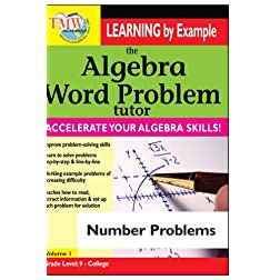 Algebra Word Problem: Number Problems