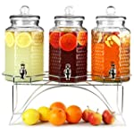 Del Sol Triple Drinks Dispenser with...