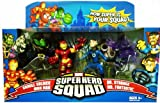 Super Hero Squad the Secret Invasion Begins -Iron Man, Skrull, Dr. Strange, Mr. Fantastic 4 Pack Image