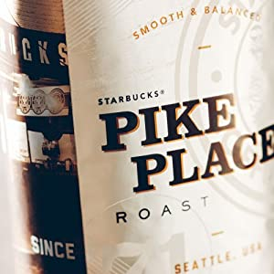 Starbucks Pike Place® Roast Whole Bean Coffee (1lb)