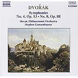 Dvorak: Sinfonien 4 und 8 Gunzenhauser