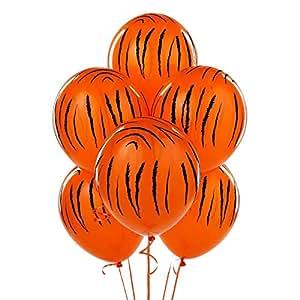 Qualatex Mayflower Distributing Jungle Tiger Stripes Latex Balloons