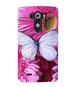 Vizagbeats purple butterfly Back Case Cover for LG G3::LG G3 D855