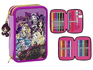*Exclusive Ever After High pencil case filled with A 34 2015