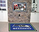 FANMATS 6605 NFL Seattle Seahawks 5' x 8' Area Rug at Amazon.com
