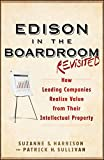 img - for Edison in the Boardroom Revisited: How Leading Companies Realize Value from Their Intellectual Property book / textbook / text book