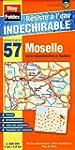 Moselle (57). Carte D�partementale, A...