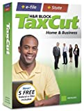 H&R Block TaxCut 2008 Home & Business + e-file [OLD VERSION]