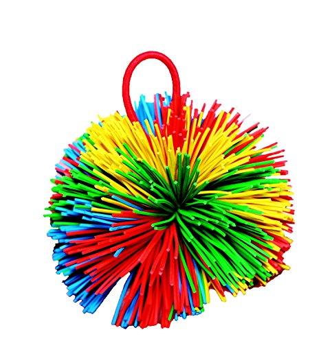 "Sportime Rub R String Ball, Multiple Color, 4-1/2"" Dia. - 1"