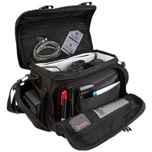 Platz für DSLR-Kamera, Kleinelektronik und Zubehör