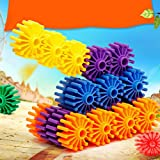 Magideal Kids Toothed Wheel Soft Splicing Building Blocks Gift Bags Storage Toy Gifts