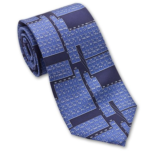 Periodic Table / Science - Men&#039;s Silk Necktie