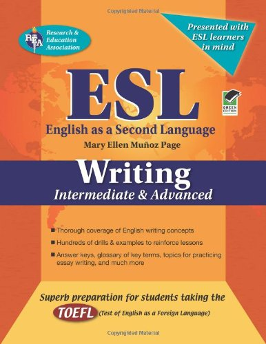 ESL Writing: Intermediate and Advanced