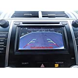 PYvideo Rear Backup Camera Kit for Toyota Camry, Corolla, Prius, Rav4 and More (2012, 2013, 2014) - (Color: Chrome) (Color: Chrome)