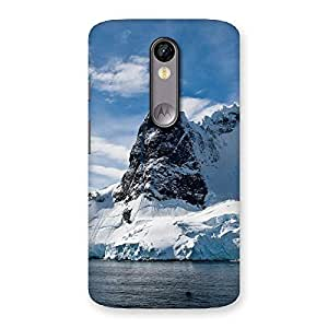 Beach Freez Hill Back Case Cover for Moto X Force