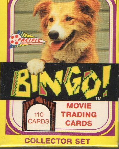 1991 Pacific Bingo the Dog Movie Trading Card Factory Set (110) - 1