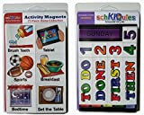 SchKIDules Magnet Combo Pk: 72 pc Home Collection PLUS 19 pc Headings Sheet
